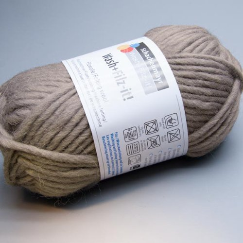 Schachenmayr Wash+filz-it 15 grey
