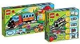 LEGO DUPLO Eisenbahn Set - Eisenbahn Starter Set 10507 und Eisenbahn Zubehör ... von LEGO