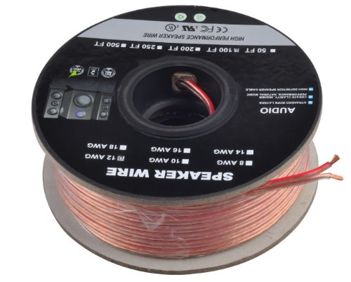 C&E Cne62270 100-Feet 12Awg Enhanced Loud Oxygen-Free Copper Speaker Wire Cable