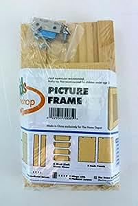 Buy home depot kids workshop picture frame craft kit for Kids crafts at home depot