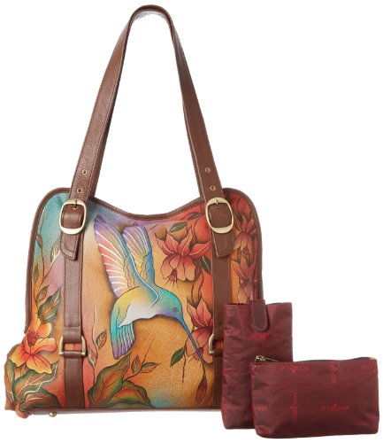 Anuschka 502 Tote,Flying Jewels,One Size