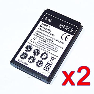 New 2x 1550mAh Spare Replacement Li_ion Battery for AT&T Samsung Rugby 4 SM-B780A SmartPhone - Shipping From USA