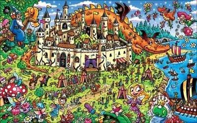Magic Discovery Princess Land 100 Pc Jigsaw Puzzle - 1