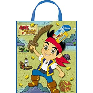 Jake and the Never Land Pirates Reusable Plastic Tote Bag