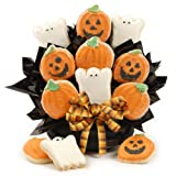Frosted Halloween Cookie Bouquet