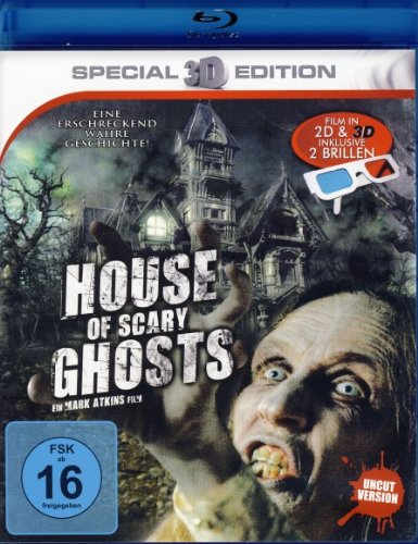 House of Scary Ghosts - Film in 3D inkl. Brillen [Blu-ray]