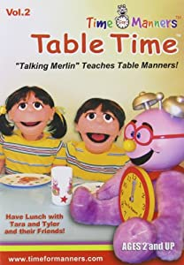 Time For Manners: Table Time, Vol. 2