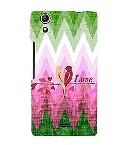 EPICCASE nature love Mobile Back Case Cover For Micromax Canvas Selfie Lens Q345 (Designer Case)