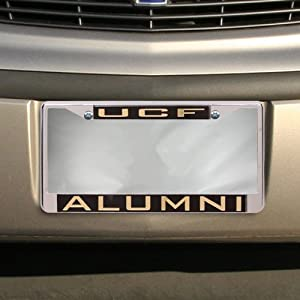 Amazon Com Ncaa Ucf Knights Alumni Chrome License Plate
