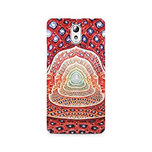 Motivatebox- Psychedelic Faces on the wall Premium Printed Case For Lenovo Vibe P1M -Matte Polycarbonate 3D Hard case Mobile Cell Phone Protective BACK CASE COVER. Hard Shockproof Scratch-