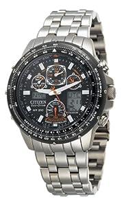 """Citizen Men's JY0010-50E Eco-Drive """"Skyhawk A-T"""" Titanium Watch from Citizen"""