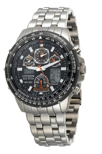 Citizen Men&#8217;s JY0010-50E Eco-Drive Skyhawk A-T Titanium Watch