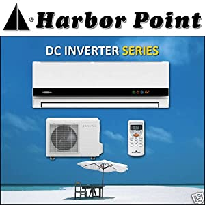 Harbor Point HS-35V1a 20 Seer 12000 BTU Ductless Air Conditioner Heat Pump with Free Installation Kit