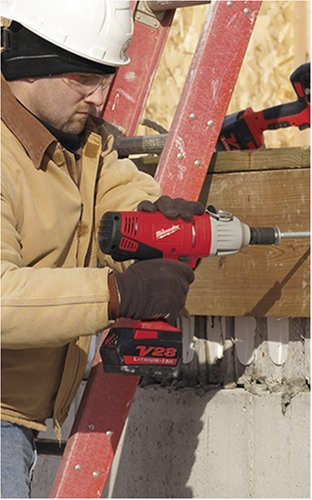 Milwaukee 0779-22 V28 28-Volt Lithium Ion  1/2-Inch Cordless Impact Wrench