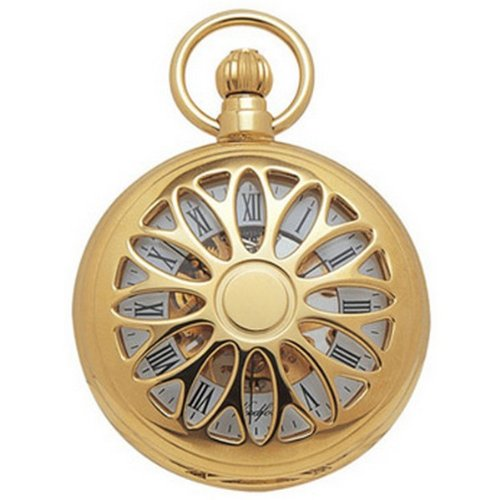 Cut Out Half Hunter Mechanical Pocket Watch by Woodford
