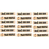 Kangaroo Wooden Train Whistles - Train Engineer Whistles ~ 18pc per order