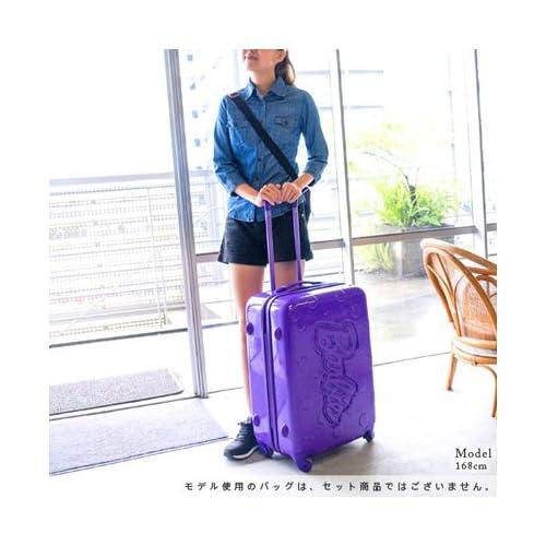 (バービー) Barbie スーツケース キャリー ハード 旅行かばん 59L [ジェーンTR] 05928