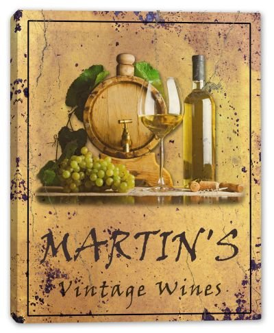 martins-family-name-vintage-wines-canvas-print