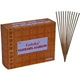 Goloka Nagchampa Incense Sticks Pack Of 12 (40 Grams Each Pack)