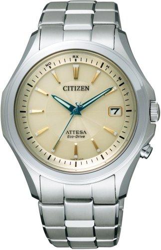 CITIZEN (シチズン) 腕時計 ATTESA アテッサ Eco-Drive エコ・ドライブ 電波時計 ATD53-2974 メンズ