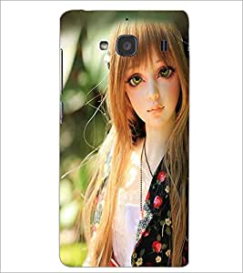 PRINTSWAG BEAUTIFUL GIRL Designer Back Cover Case for XIAOMI REDMI 2 PRIME
