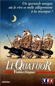 Le quatuor - violons dingues [VHS]
