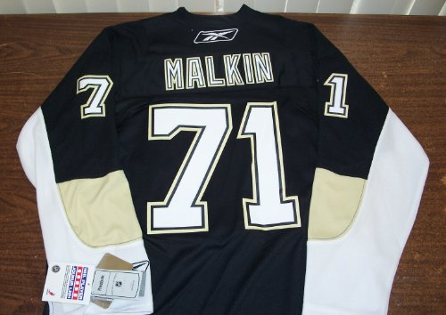 Evgeni Malkin Pittsburgh Penguins Reebok Black