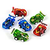 Rhode Island Novelty 12 Pull Back Racer Cars