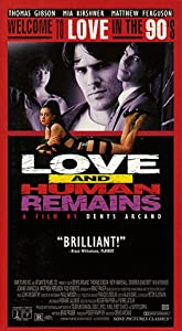 Love and Human Remains [VHS]