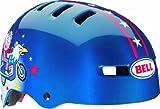 Bell Kids Fraction Helmet - Blue Kid Knievel, Small