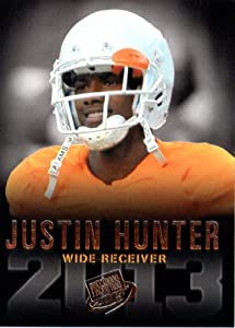 2013 Press Pass Football Card #19 Justin Hunter WR - Tennessee / Tennessee Titans (RC - Rookie Card) NFL Trading Cards