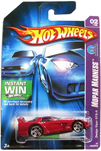 Hot Wheels 2006 Collector - Dodge Viper GTS-R - Mopar Madness - 2 of 5 - 1