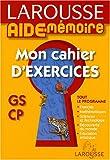 echange, troc Françoise Melluso - Mon cahier d'exercices GS/CP