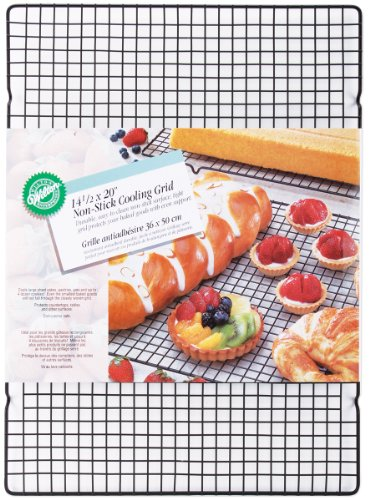 Wilton Nonstick Cooling Rack Grid, 14 1/2 by 20-Inch (Wilton 20 Inch Cookie Sheet Pan compare prices)