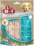 8in1 Delights Twist Dental Sticks, 35-Piece