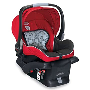 Britax B-Safe Infant Car Seat (Red)