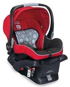 britax b safe infant car seat red prior model baby. Black Bedroom Furniture Sets. Home Design Ideas