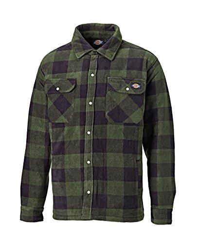 Dickies Portland - Camicia imbottita da lavoro, colori e taglie vari, verde, SH5000