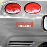 Clemson Tigers Dad Car Decal