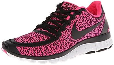 acento emoción Imperio  Nike Free 5.0 V4 Womens Shoes Black Coral Red