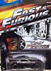 HOT WHEELS 2015 FAST AND FURIOUS RELEASE EXCLUSIVE DARK GRAY NISSAN 350Z #5/8 DIE-CAST