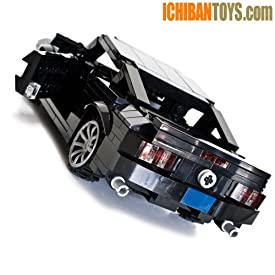 Muscle Car inspired by the 2012 Ford Mustang - Custom LEGO Element Kit