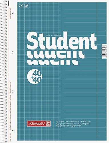 brunnen-1067974-notizblock-collegeblock-student-duo-a4-liniert-lineatur-27-lineatur-28-70g-m-40-blat