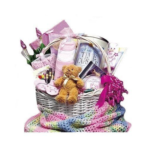 Baby Bountiful Newborn Basket - Extra Large Shower Gift Idea for New Baby Boys