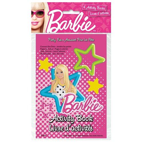 Barbie Activity Books, 4ct - 1