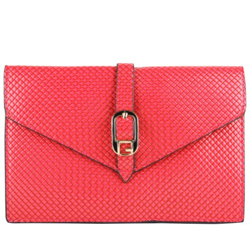 Magenta Elegant Diamond Women Clutch Bag for Nokia Lumia 1520 1320 735 830