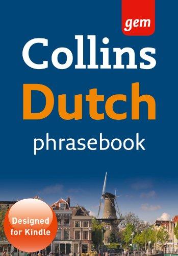 Dutch Phrasebook (Collins Gem)