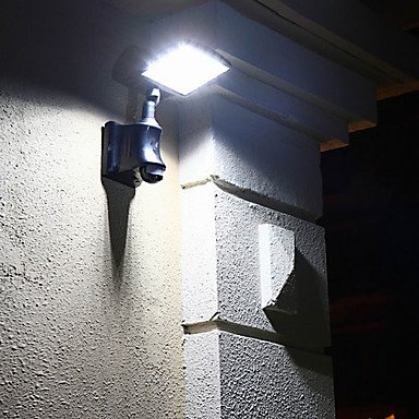 Modern Rechargeable Led Solar Wall Light Garden Wall Lights