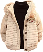 Toddler Baby Girl Cardigan Warm Jacket Coat Knit Sweater Clothes