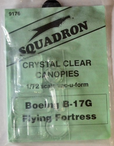 Squadron Products B-17G Flying Fortress Canopy Set